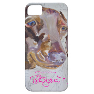 Cocoa dachsund iphone cover iPhone 5 case