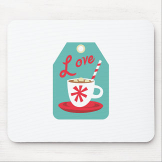 Cocoa Gift Tag Mousepads