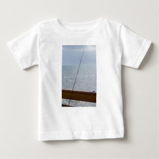 Cocoa Pier Fishing Baby T-Shirt