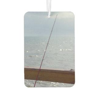 Cocoa Pier Fishing Car Air Freshener