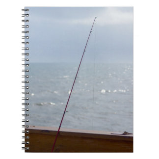 Cocoa Pier Fishing Spiral Notebook