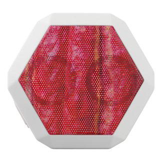 cocoa pod red white bluetooth speaker