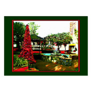 Cocoa Village Christmas 2004 Artist Trading Card Business Card Templates