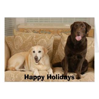 CocoAmber, Happy Holidays Card