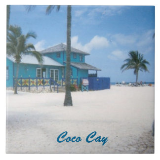 CocoCay Large Square Tile