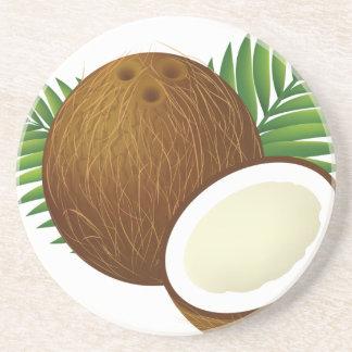 Coconut Cartoon Coaster