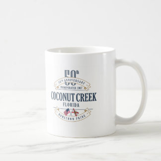 Coconut Creek, Florida 50th Anniversary Mug
