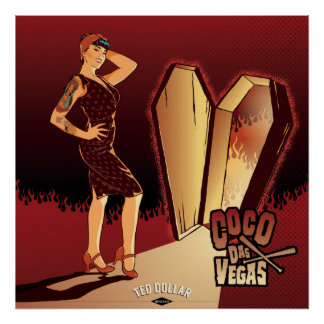 Coconut Das Vegas Poster