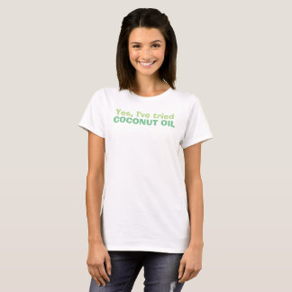 Coconut Oil Shirt for Skin Disorders