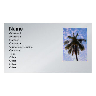 Coconut Palm Double-Sided Standard Business Cards (Pack Of 100)