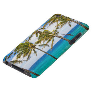 Coconut palm trees (Cocos nucifera) swaying in iPod Case-Mate Case