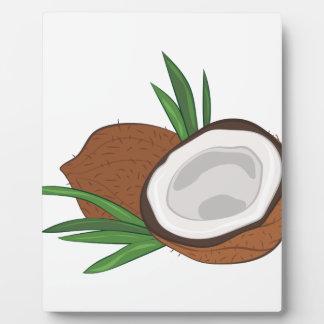 Coconut Plaque