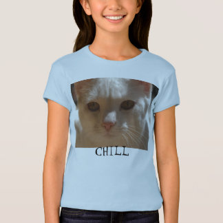 Coconut the Cat -- CHILL t-shirt