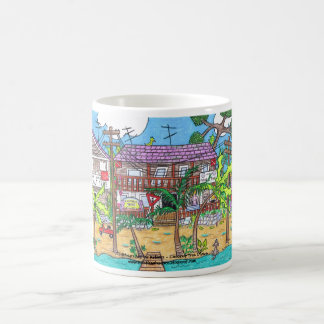 Coconut Tree Divers Mug