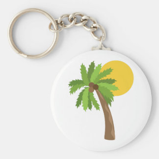 Coconut Tree Keychains
