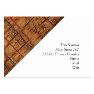 coconut tree,structure pack of chubby business cards