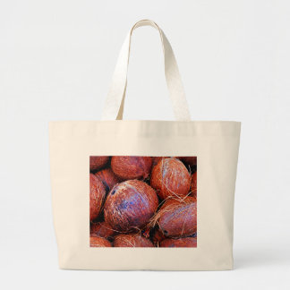 Coconuts In A Shell Large Tote Bag