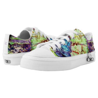 CoCoNuTs! In Amazingly Detailed Watercolors Low Tops
