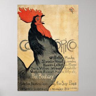 Cocorico Poster