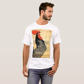 Cocorico Vintage French Poster T-Shirt