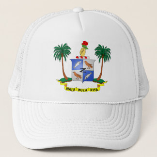 Cocos (Keeling) Islands Coat of arms CC Trucker Hat