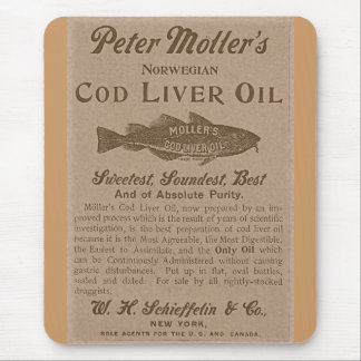 Cod Liver Oil Mouse Pad