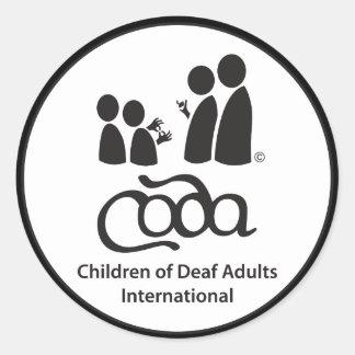 "CODA Sticker 3"""