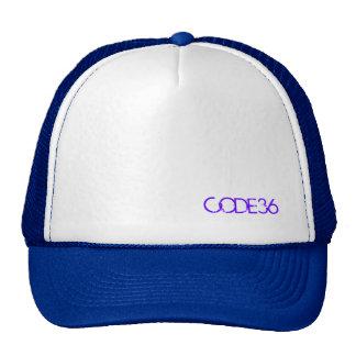 CODE36 Purple/White Cap