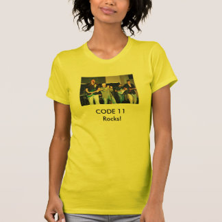 CODE 11 Rocks! Band pic Tees