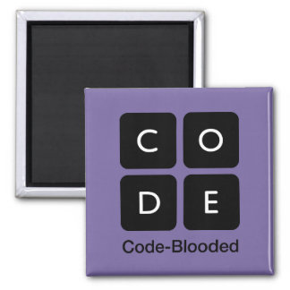 Code-Blooded Square Magnet