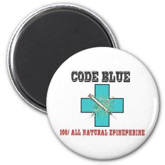 Code Blue 100% All Natural Epinephrine Magnet