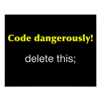Code Dangerously! Poster