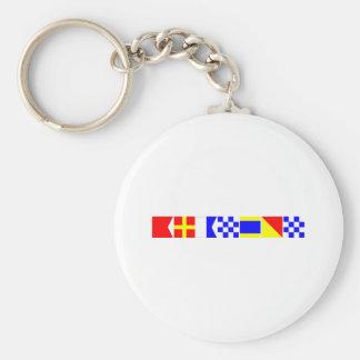 Code Flag Brandon Key Ring