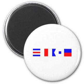 Code Flag Chase 6 Cm Round Magnet