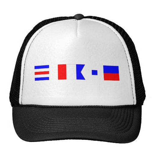 Code Flag Chase Trucker Hats