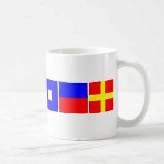Code Flag Cooper Coffee Mug