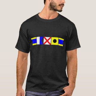 Code Flag David T-Shirt