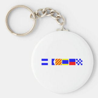 Code Flag Jayden Key Ring