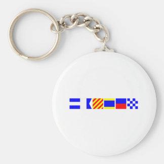 Code Flag Jayden Key Ring