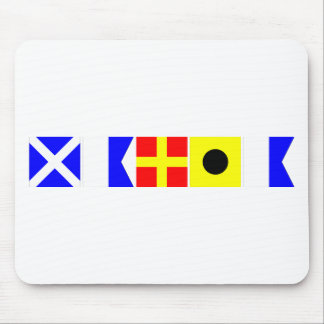Code Flag Maria Mouse Pad