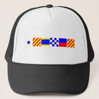 Code Flag Sydney Trucker Hat