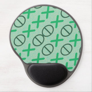 CODE green Gel Mouse Pad