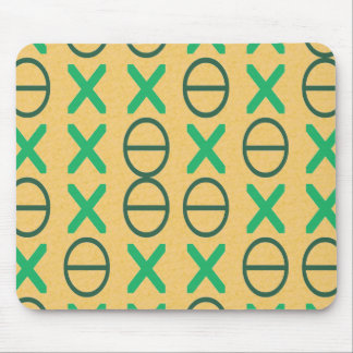 CODE green Mouse Pad