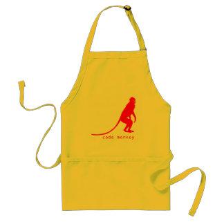 Code Monkey apron