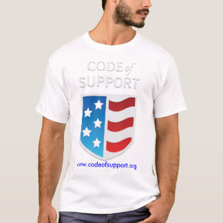 Code of Support  T-shirt