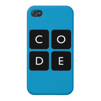 Code.org logo glossy iPhone4 case Case For iPhone 4