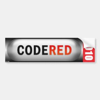 Code Red 2010 Bumper Sticker