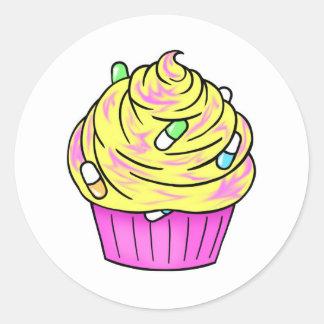 codeine cupcake stickers