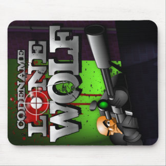 Codename Lone Wolf Mousepad