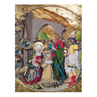 Codex 15.501 The Adoration of the Kings Postcard